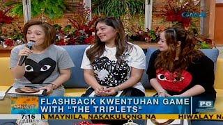 Unang Hirit: The Triplets, LIVE on UH!