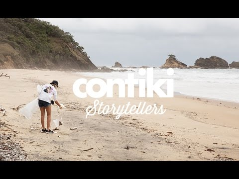 Jamie McDell Talks Plastic In The Ocean: Storytellers - Contiki Cares, powered by Treadright