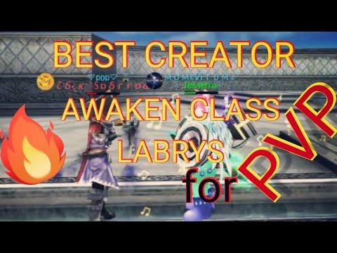 AVABEL ONLINE - BEST CREATOR AWAKEN CLASS LABRYS FOR PVP!!!😱