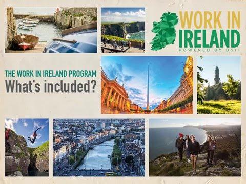 Work in Ireland Program by USIT - Informational Presentation