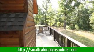 Small Cabin Plans In The Woods