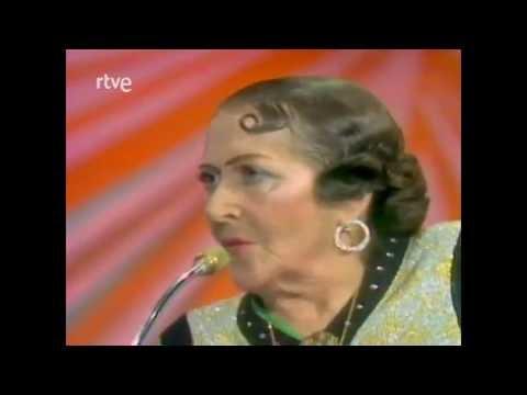 Estrellita Castro: Entrevista y Recitado