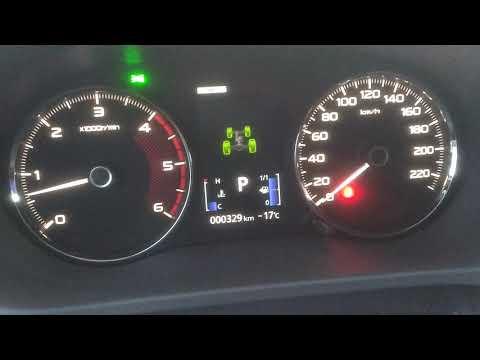 Какой реальный расход топлива у дизельного Мицубиси Паджеро Спорт во время обкатки.