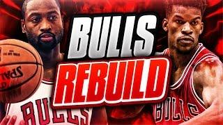 Rebuilding the chicago bulls! nba 2k17 my league