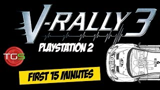 V-Rally 3 - PlayStation 2 (1st 15 Minutes) Ep. 3