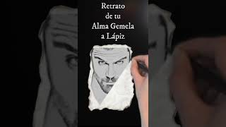 EL ROSTRO DE TU ALMA GEMELA - RETRATO A LAPIZ #SHORTS