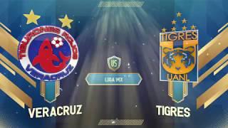 Veracruz cae ante Tigres en el puerto jarocho