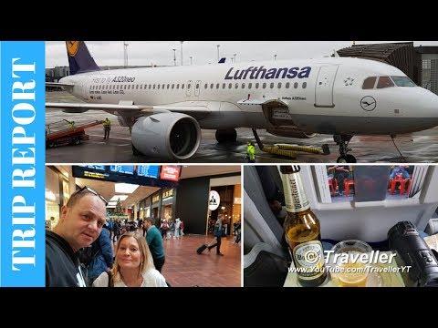 Lufthansa Trip Report Airbus Neo Economy Class - Copenhagen to Frankfurt  - Clarion Airport Hotel