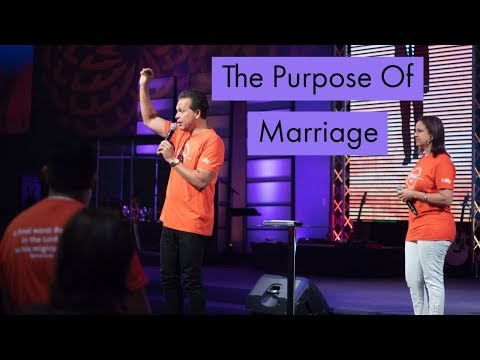 The Purpose Of Marriage | Sunday September 30, 2108 | Pastor Marco Garcia