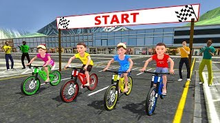 Kids Bicycle Rider Street Race (by KidRoider) - Kids Games - Android Gameplay [HD]