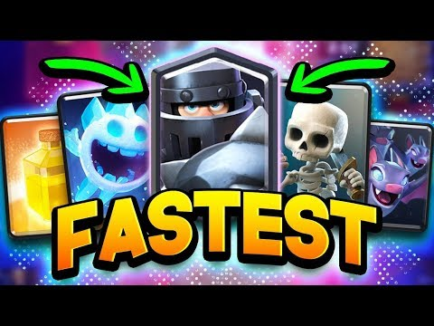 FAST 2.3 MEGA KNIGHT CYCLE DECK! MOST INSANE 12 WIN GRAND CHALLENGE!