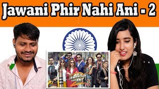 Indian Reaction On Jawani Phir Nahi Ani - 2 Trailer | Krishna Views