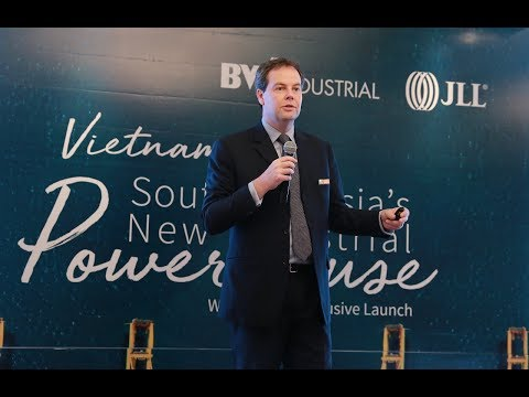 Is Vietnam Industrial's hottest property sector? | Stephen Wyatt - Country Head of JLL Vietnam