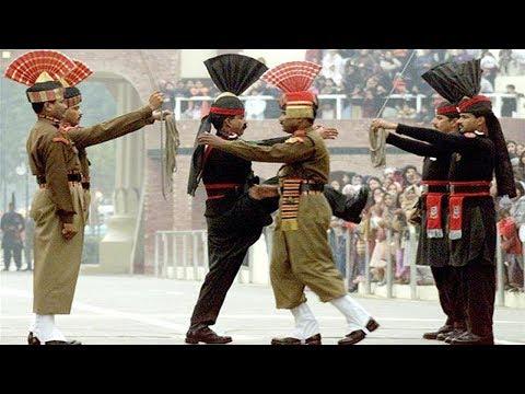 India and Pakistan Wagah Border Ceremony