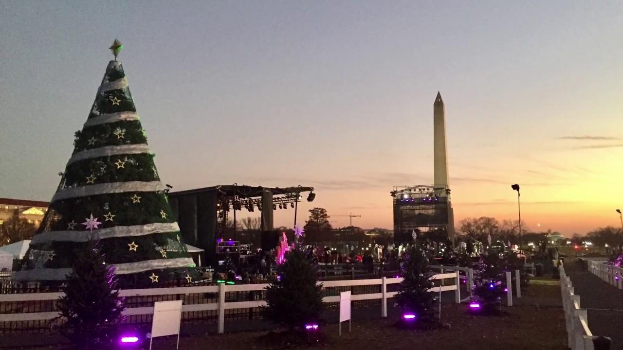 2017 national christmas tree lighting rehearsal