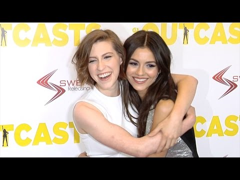 Victoria Justice and Eden Sher