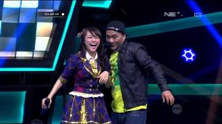 Bebas IWA K Feat Rona JKT48 Live