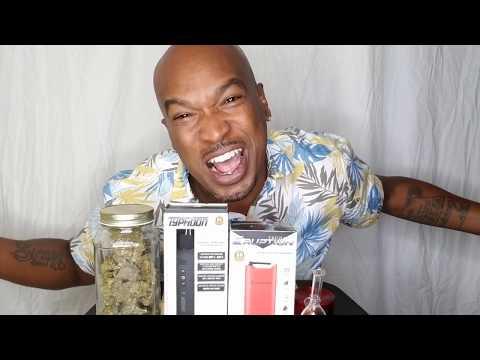My first time smoking cbd in a dry herb Vaporizer !!! Tsunami Eruption vaporizer