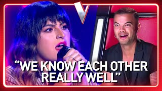 An old FRIEND of coach Guy Sebastian SURPRISES him in The Voice