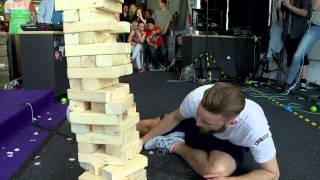 The longest Jenga Game ever played! (Die Finalchallenge)