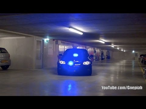 Undercover BMW - Police LED lights