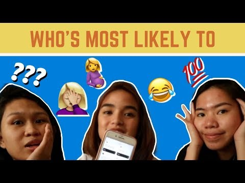 WHO'S MOST LIKELY with Ida and Martina!!!