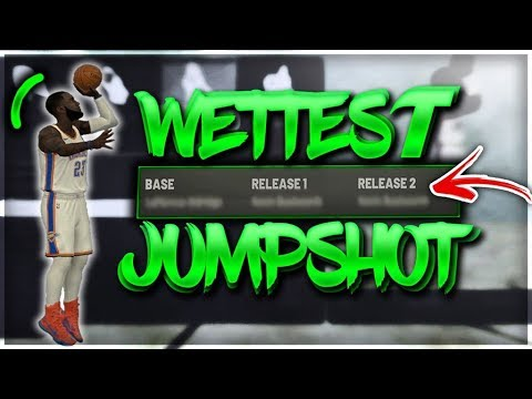 NEW WETTEST JUMPSHOT on NBA 2K19 - BEST JUMPSHOT AFTER PATCH