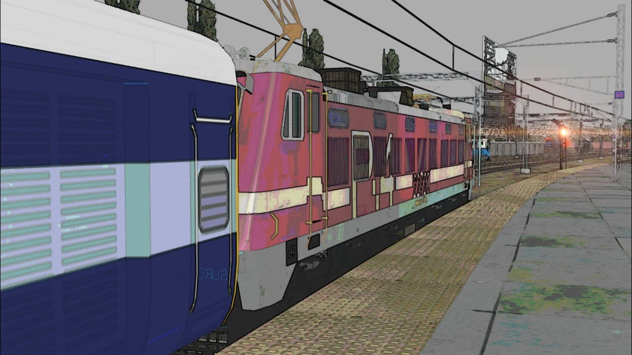 Varanasi - CSMT 01094 Mahanagri Special Train Journey In Indian Train Simulator   Part-1   MSTS   OR