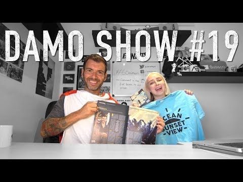 DAMO SHOW #19 - TAYLOR SWIFT TICKETMASTER / BOOKING AGENTS / MANAGE YOUR FB PAGE / WRITING A BIO