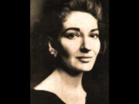 Maria callas addio del passato youtube - Callas casta diva ...