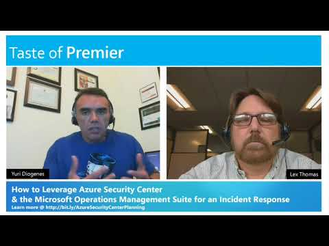 How to use the Azure Security Center for an Incident Response