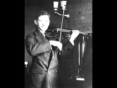 Handel: Larghetto  Efrem Zimbalist 1913