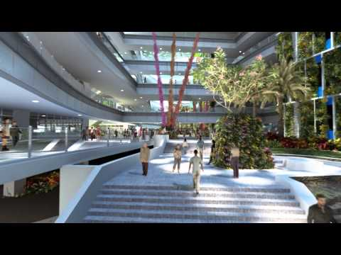 ITE Headquarters and College Central Fly-through Animation