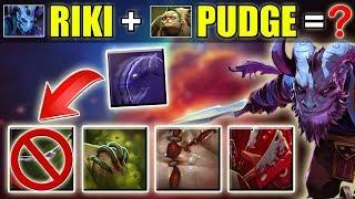 Riki + Pudge = Rudge??? Dota 2 Ability Swap [New Hero] Ability Draft Video