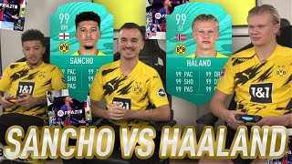 FIFA 21 : HAALAND and SANCHO answer YOUR QUESTIONS !! 😱🔥