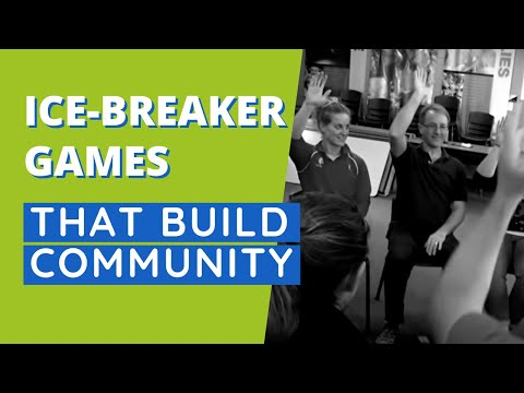 Simple Ice-Breaker That Builds Community - Making Connections