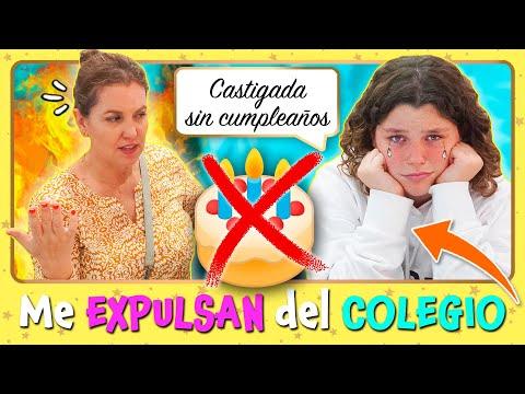 ❌ Me EXPULSAN del COLEGIO 🏫 y mi MADRE me CASTIGA sin FIESTA de CUMPLEAÑOS ⛔🎂 Broma Daniela