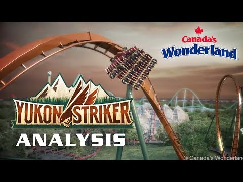 Yukon Striker Analysis Canada's Wonderland 2019 Dive Coaster