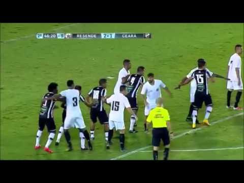 GOLS - Resende 2 x 2 Ceará - Copa do Brasil