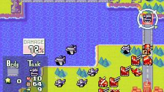 Advance Wars 2 - Black Hole Rising - Advance Wars 2 Mission 4: Flak Attack - User video
