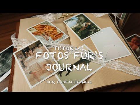 Foto für's Journal drucken - Tutorial