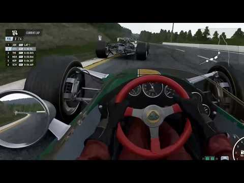 Project Cars 2 Historic Spa Lotus 49 Online Race (VR)