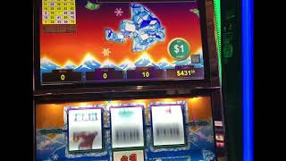"""VGT Slots """"Polar High Roller""""  Red Spin Wins Choctaw Gambling Casino. Durant, OK."""