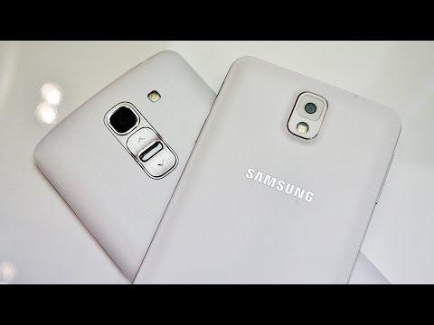LG G Pro 2 vs Samsung Galaxy Note 3, MWC 2014