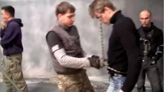 Съемочный процесс «Самоубийцы» и интервью Воробьева