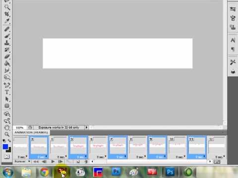 Hướng dẫn tạo chữ chạy nhấp nháy bằng PhotoShop - By Tùng Huynh