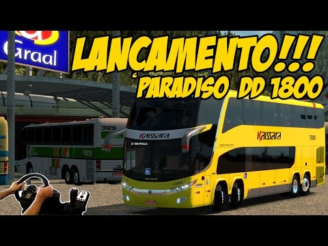 LANÇAMENTO PARADISO DD 1800 6x2/8x2 - SÃO PAULO A RIO DE JANEIRO VIA DUTRA