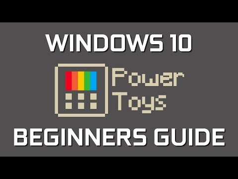 How To Use Windows 10 PowerToys (Beginners Guide)