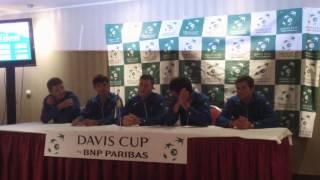 Пресс-конференция сборной Украины