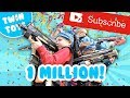 Nerf War:  1 MILLION SUBSCRIBERS!!!